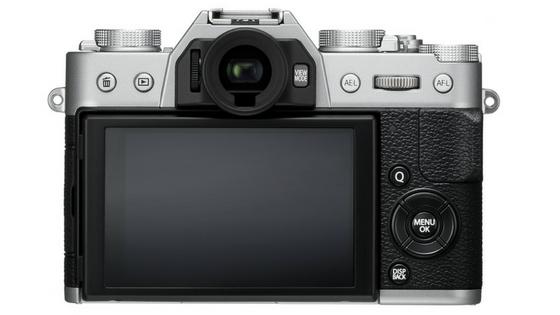 Fujifilm X-T20 rear