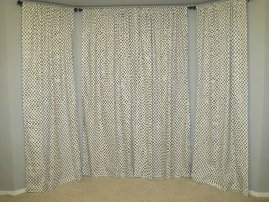 Bay Window Curtains Away She Went