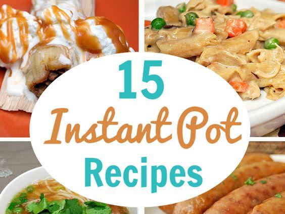 Instant Pot: September Recipe Round Up!