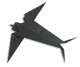 Swallow Origami