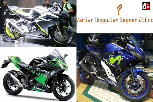 terutama di segmen motor sport kelas seperempat liter ini Adu Ganteng Motor 250cc, Cakepan Mana Bro?