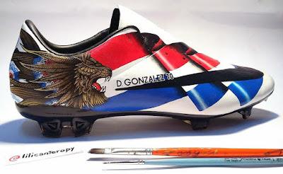 Derlis González' Custom Nike Mercurial Vapor Boots