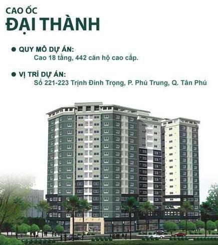 Sự trở lại của chung cư Đại Thành Tân Phú nhờ Hưng Thịnh