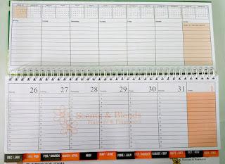 cetak kalender unik