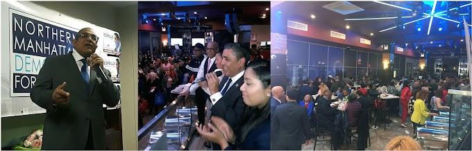 Candidatos dominicanos exponen sus plataformas en masiva actividad de Club Demócrata