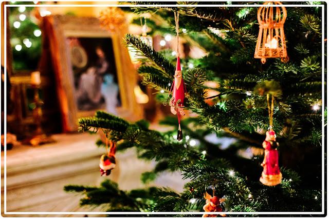 le sac du sapin de Noël toxique