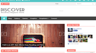 download Discover Responsive Blogger Template
