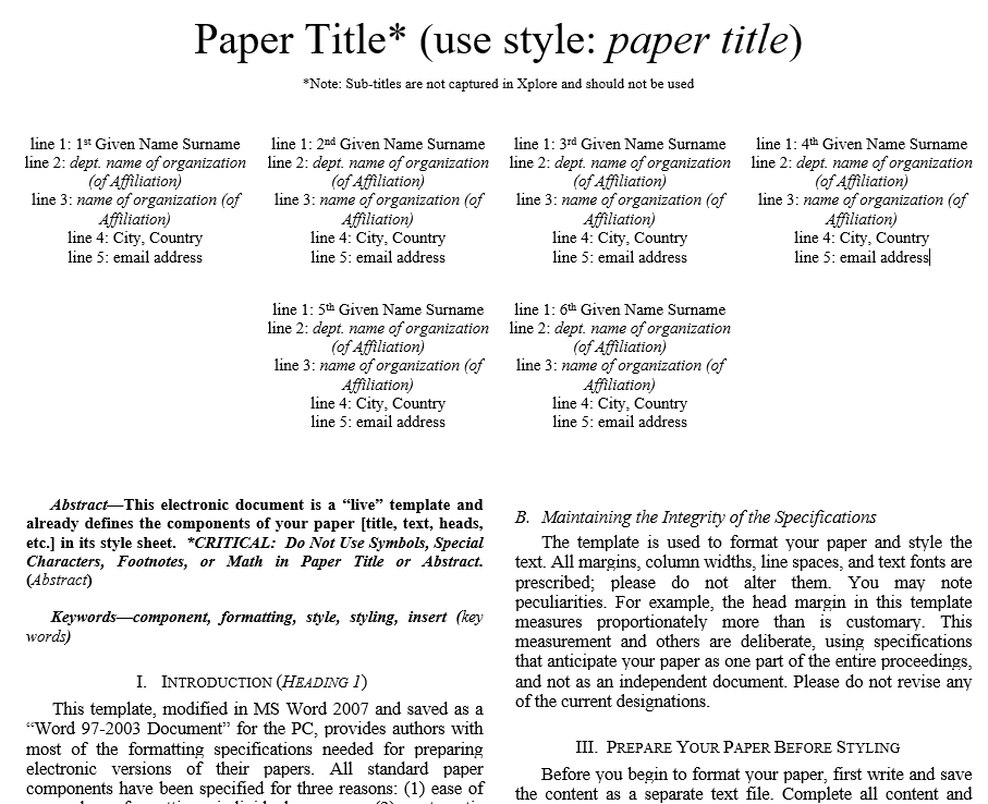 Peer Review Paper Format - Floss Papers