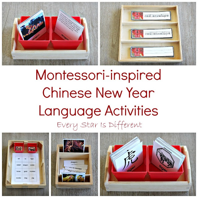 Montessori-inspired Chinese New Year Language Activities