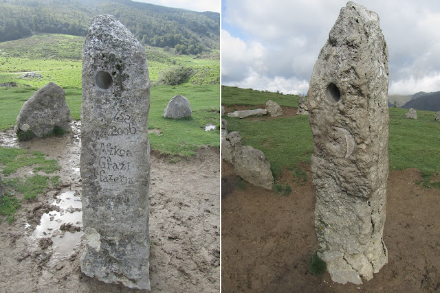 Valle de Aezkoa - Frontera natural entre España y Francia - Monumentos megalíticos - Navara