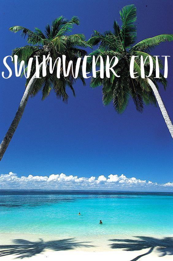 2016 Spring/Summer Swimwear Edit.