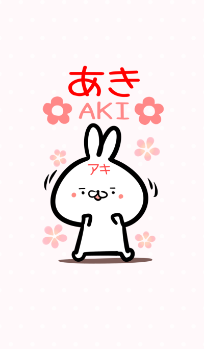 Akityan rabbit Theme!