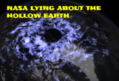 NASA is blatantly lying and actively covering up the hollow Earth entrance.