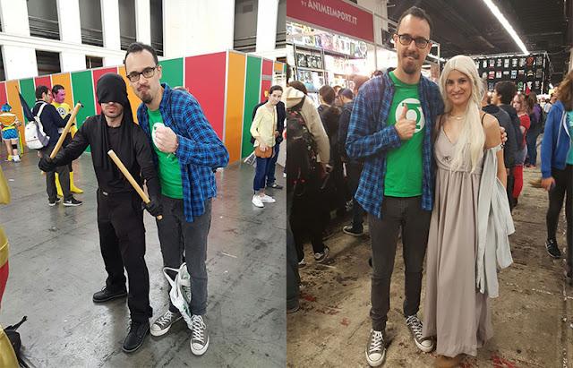 Haciendo amigos, en este caso Daredevil a la izquierda y Daenerys Targaryen a la derecha