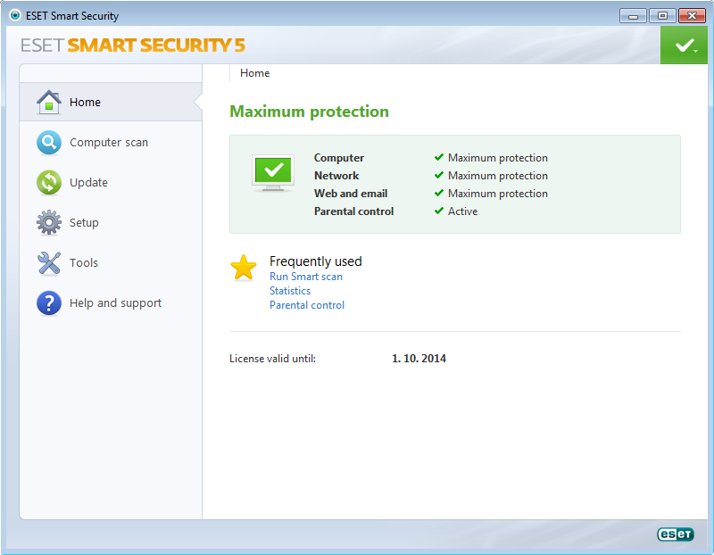 Eset Nod32 Smart Security 5 Updated 2015 2016 2017