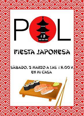 invitacion fiesta japonesa