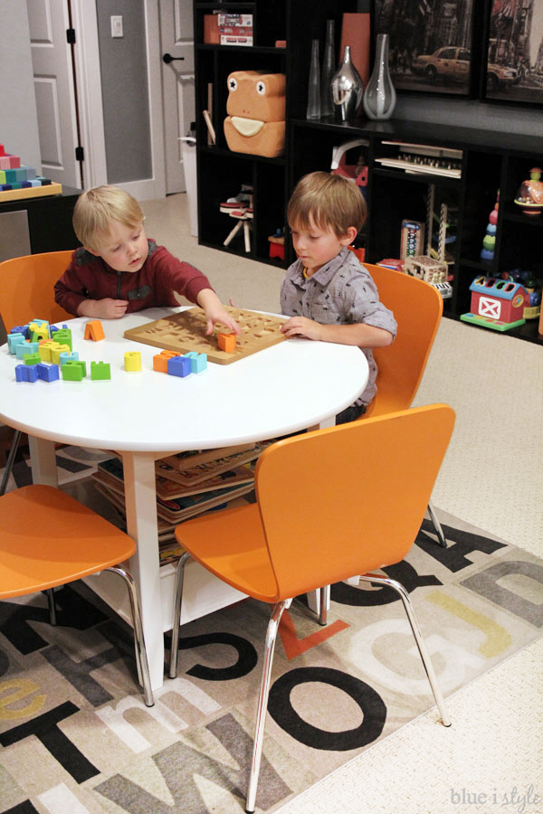 Play Table In Family Room