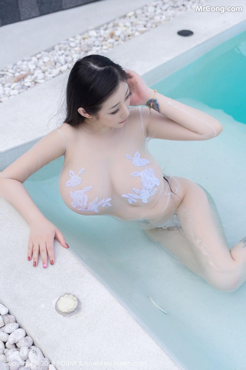 Image YouMi-Vol.183-Daji-Toxic-MrCong.com-002 in post YouMi Vol.183: Người mẫu Daji_Toxic (妲己_Toxic) (46 ảnh)