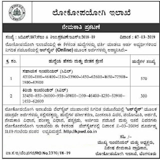 kpwd Junior Engineer Assistant Enginer AE Civil Recruitment Notification