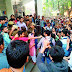 रामजस कॉलेज में छात्रों के बिच झड़प, एबीवीपी समर्थक छात्रों ने किया प्रदर्शन - Clashes outside delhis ramjas college