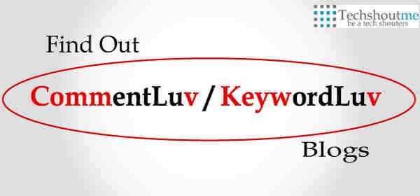 find commentluv keywordluv blog