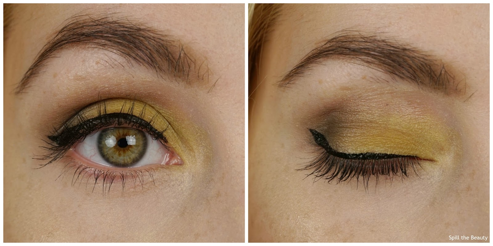 MAC it's a strike collection review swatches bowlarama carbon swatch eyes