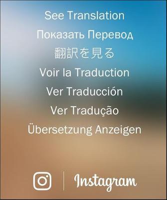 Instagram ganha tradutor de comentarios