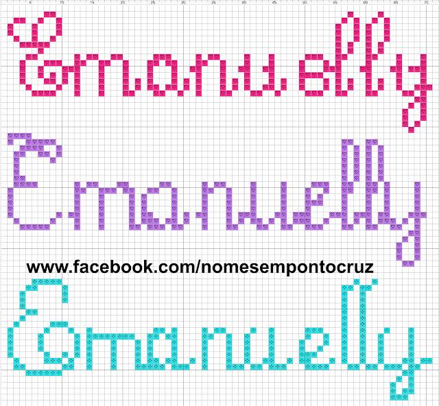 Nome Emanuelly em Ponto Cruz