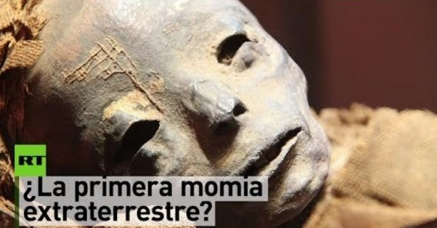 Descubren en Perú la momia de un ser «no humano» [VIDEO]