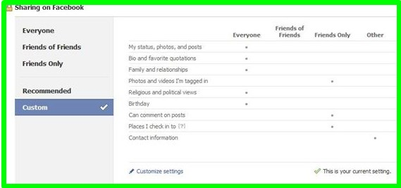who views my facebook profile