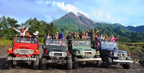 Paket Tour Jogja 2 Hari Borobudur - Merapi - Goa Pindul Tour