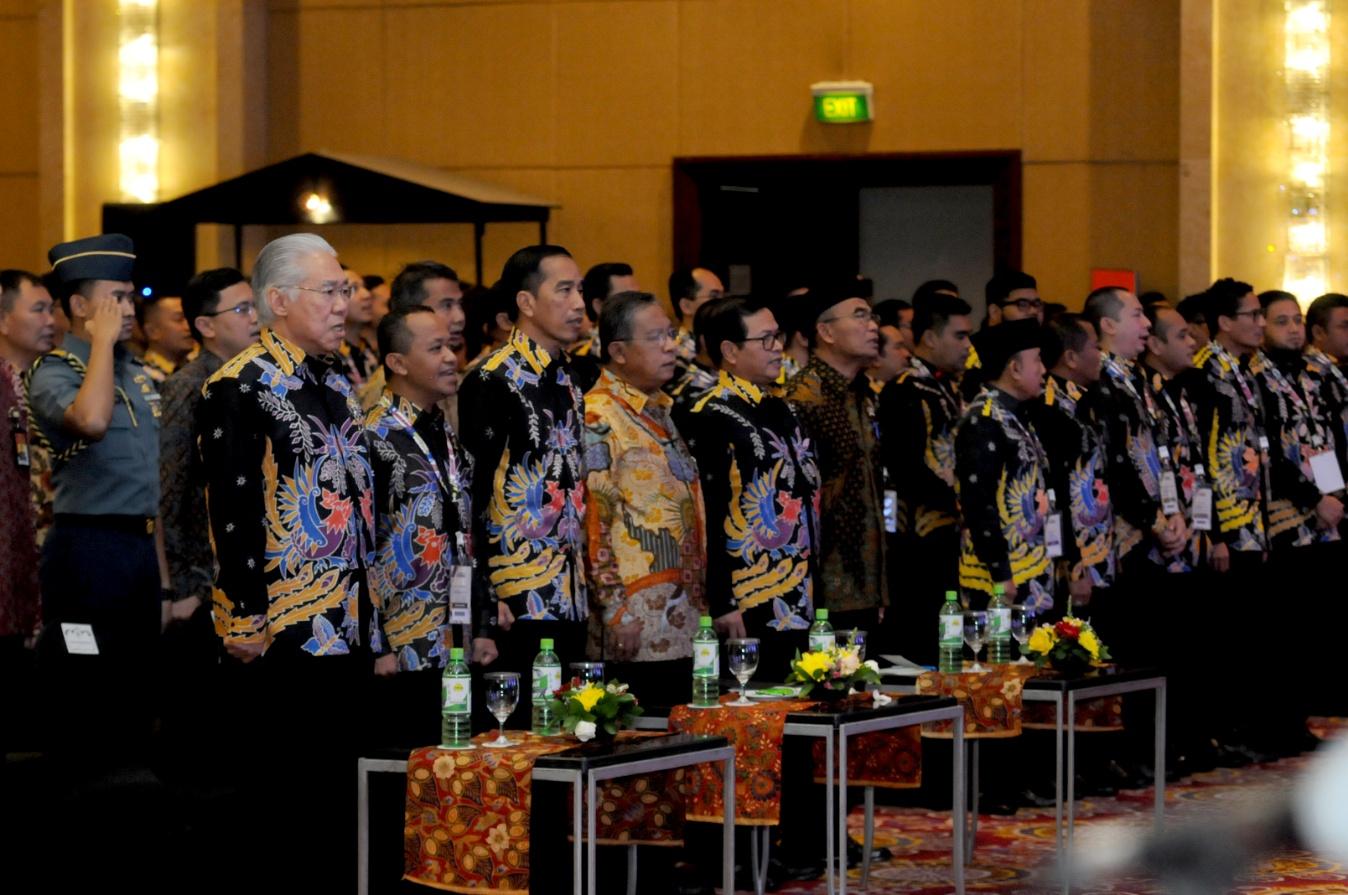 2045 Indonesia Masuk 4 Besar Dunia, Presiden Jokowi : Pendapatan Per Kapita 29 Ribu Dolar