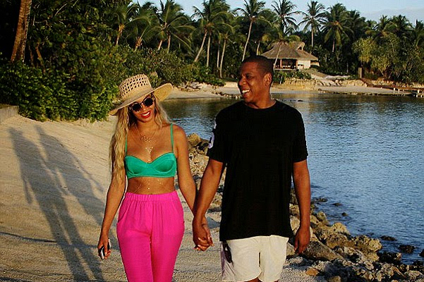 Beyonce and Jay-Z in the Dominican Republic