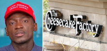 Black Trump supporter berated at Cheesecake Factory
