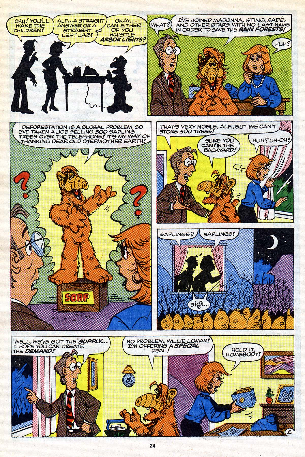 Read online ALF comic -  Issue #26 - 19