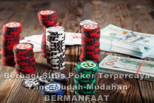 Situs Poker Online Uang Asli Terbaik di Indonesia