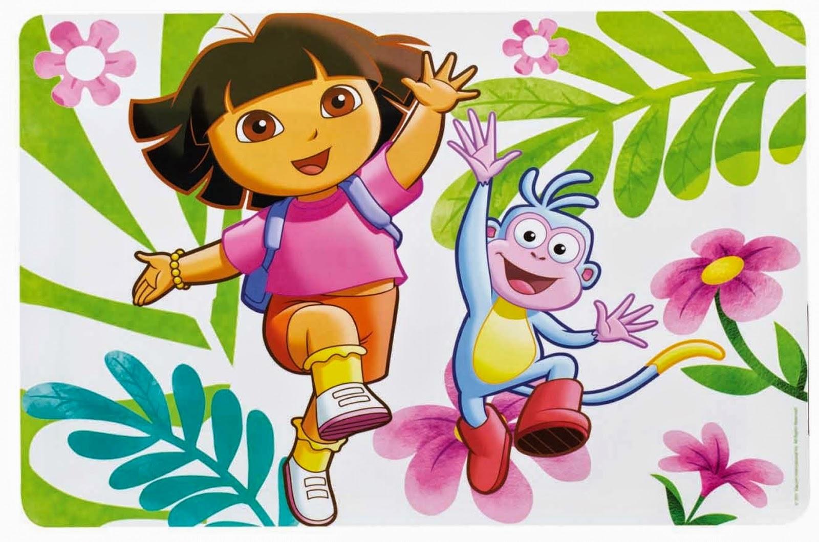 Desenhos Para Colorir E Imprimir: Desenhos Da Dora Para