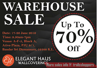 Elegant Haus Wallcovering Warehouse Sales