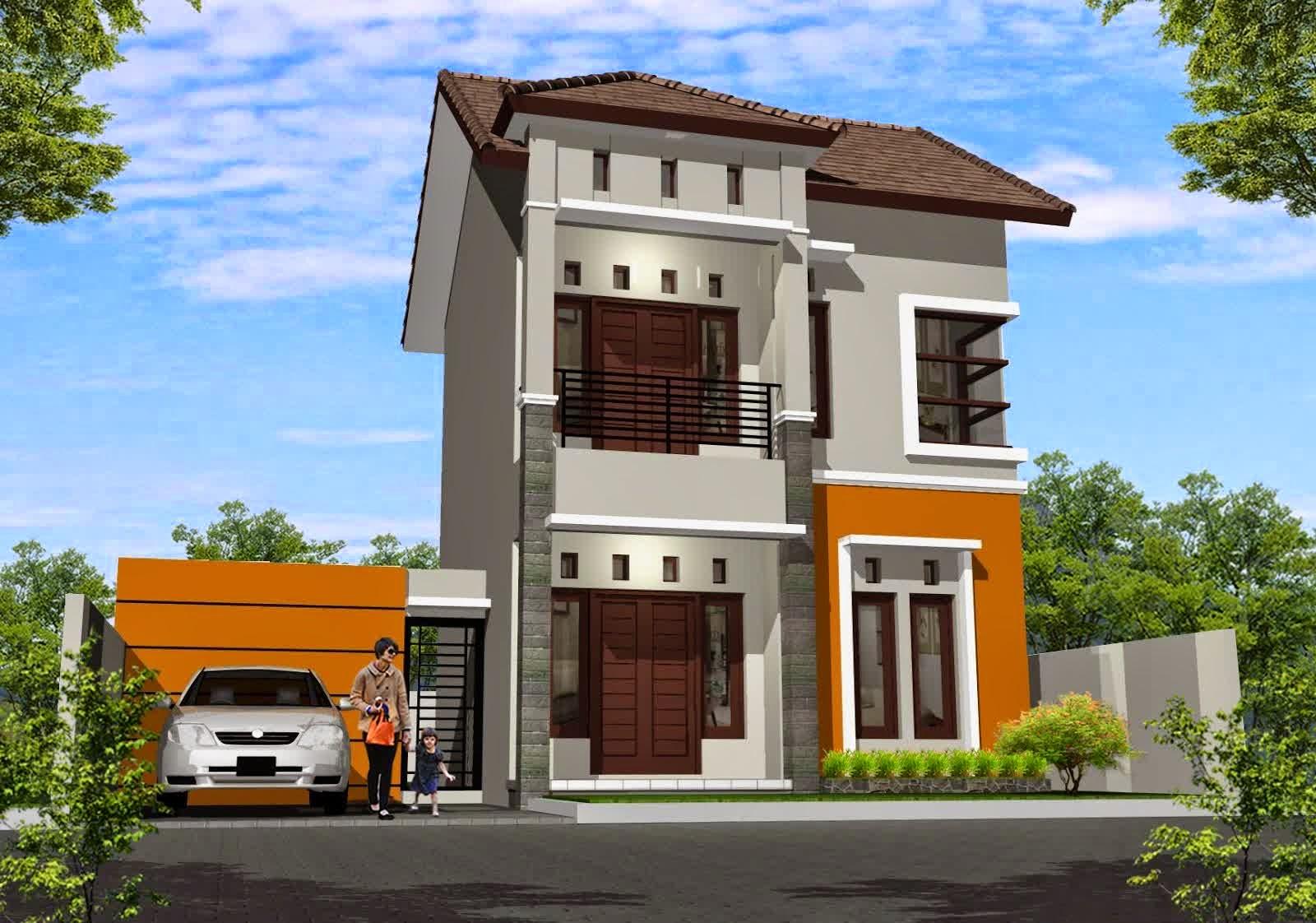 Denah Rumah Minimalis Bentuk L Terbaru Denah Rumah Rumah Rumah