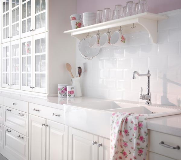 Good morning style cocina alacenas - Cocinas blancas ikea ...