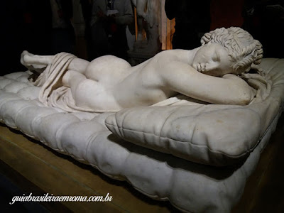 galeria borghese hermafrodita bernini expo - Mostra do Bernini na Galleria Borghese