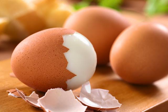 ada telur rebus dalam ms V