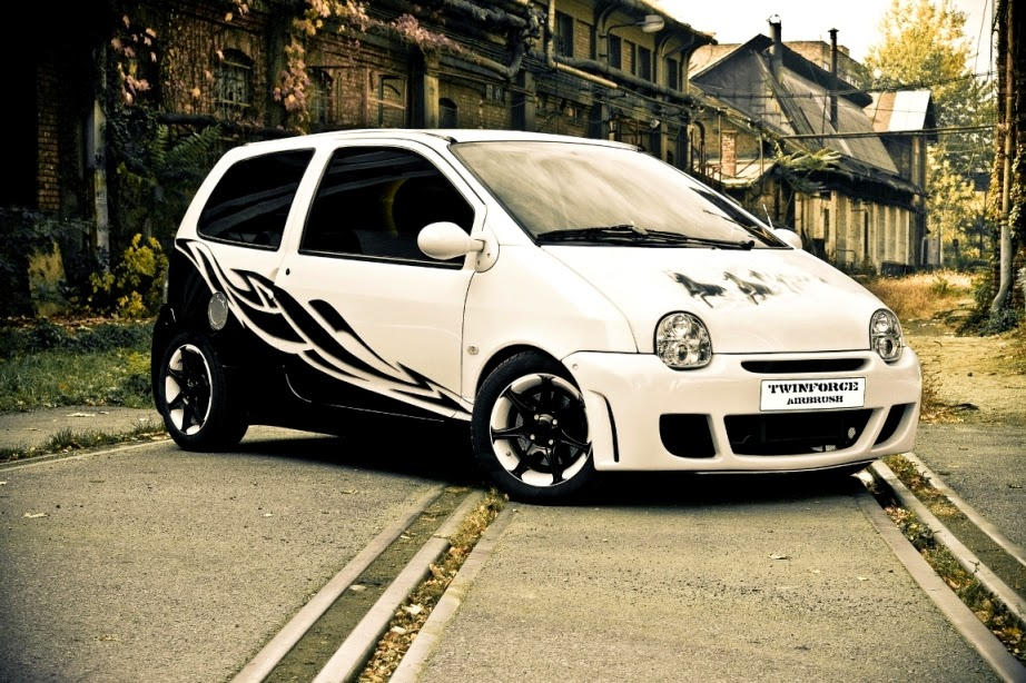 Twingo 1 Interieur Tuning Black And Waite Renault Twingo Tuning