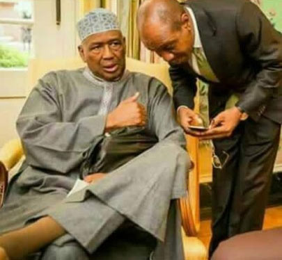 "See the ""disturbing"" photo of CBN governor and businessman that shocked social media"