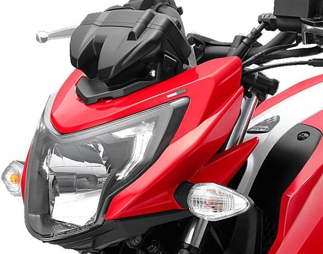 New 2018 TVS Apache RTR 160 4V close up image
