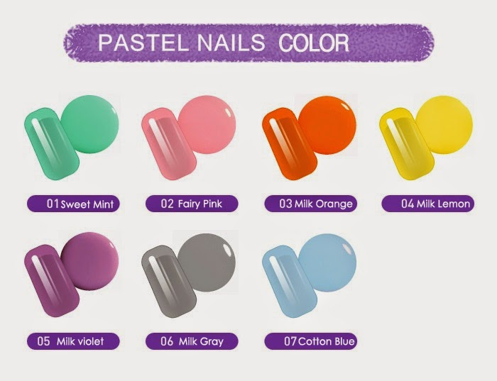 Holika Holika Pastel Nails Color