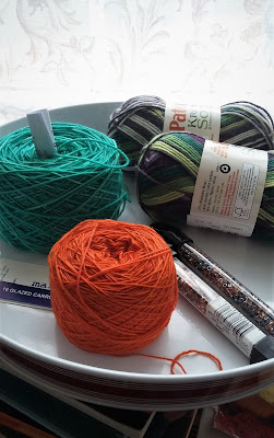 What should I knit next? Gloves, socks or a beaded Pi shawl?