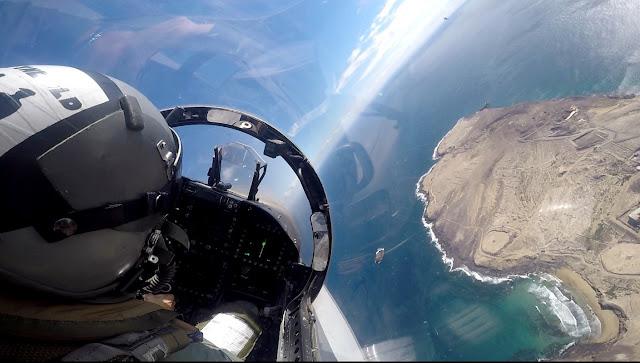 Comienza la operación Eagle Eye 17-02 del Mando de Defensa y Operaciones Aéreas