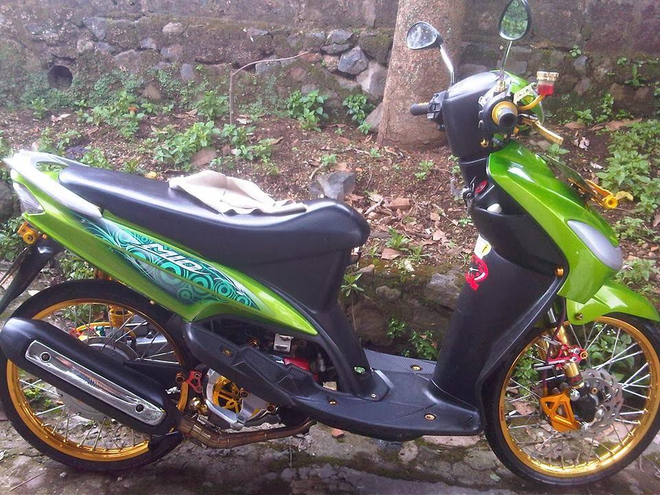 Gambar Modifikasi Motor Yamaha Mio Sporty Terbaru