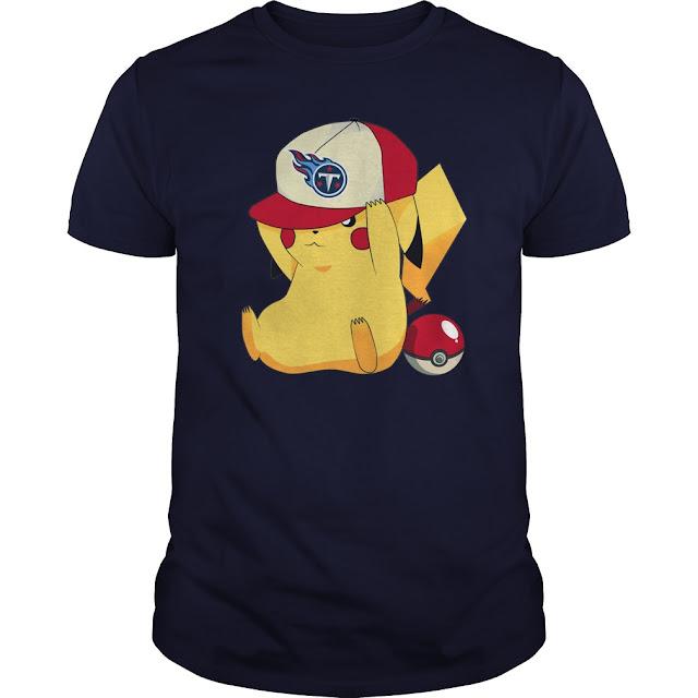 Tennessee Titans Pikachu Pokemon Shirt
